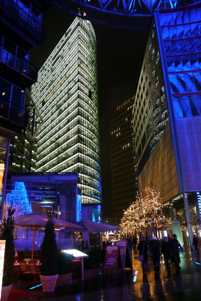 Weihnacht am Potsdamer Platz/Sony-Center